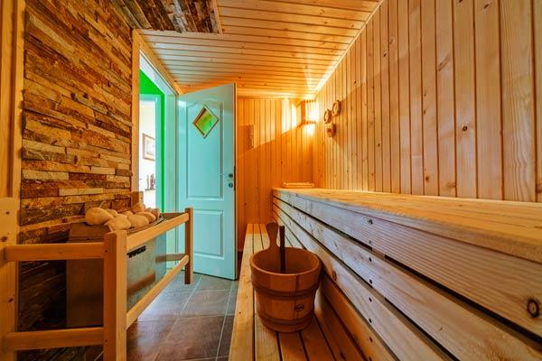 Sauna também acaba sendo pouca utilizada pelos moradores (Foto: Shutterstock)