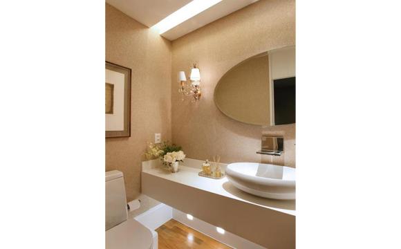 decorar lavabos redondos : decorar lavabos redondos:Formatos redondos e ovais são mais descontraídos (foto: Divulgação