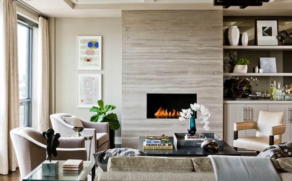 decoração de sala,d ecoração de inverno, lareira