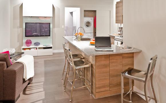 Bancada de cozinha saiba escolher o modelo ideal # Bancada De Madeira Na Cozinha
