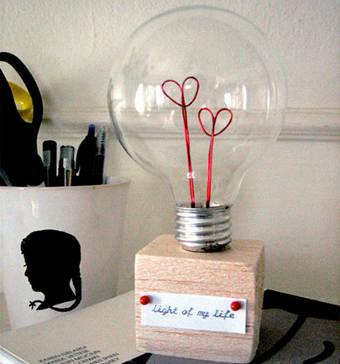 lâmpada romântica