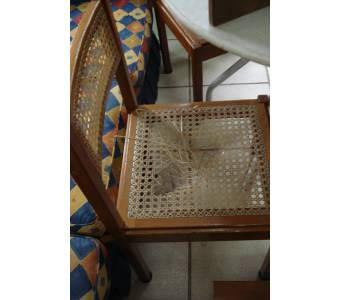cadeiras palha
