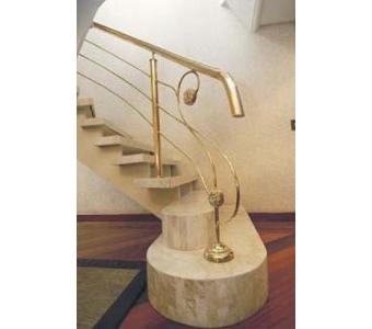 escada travertino